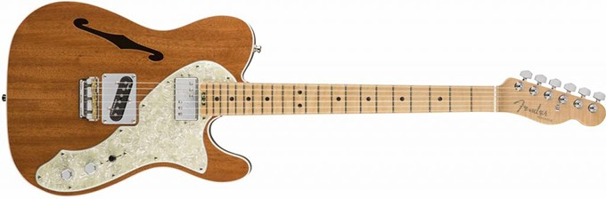 Fender Mahogany Thinline Tele