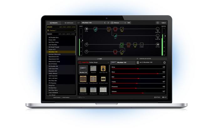 Line 6 Helix Plugin Screenshot