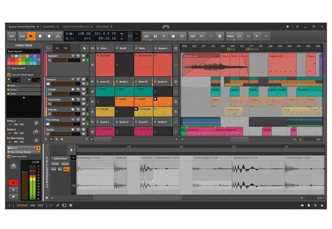 Bitwig Studio 2 Screenshot