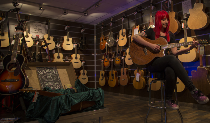 Choosing the right acoustic guitar