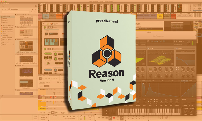 VST support comes to Reason 9