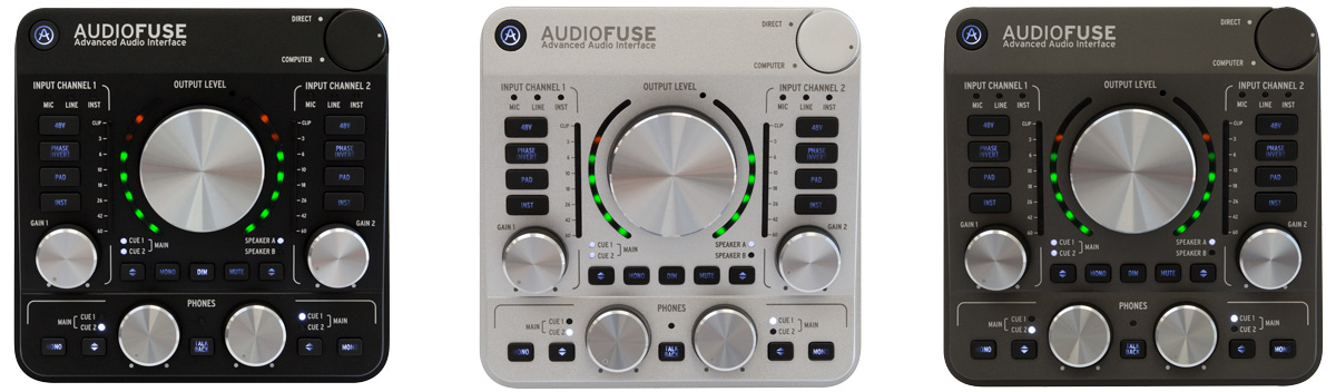 audiofuse colours