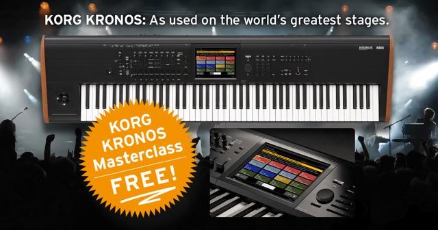 Korg Kronos Masterclass