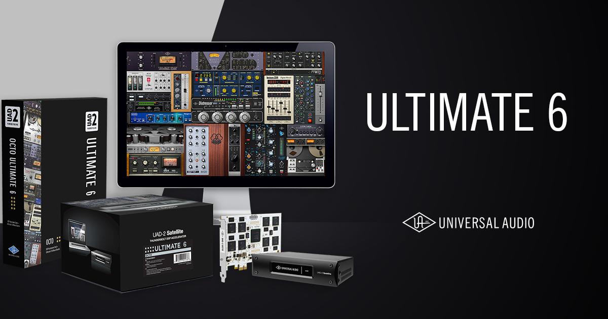 UAD-2 Ultimate 6