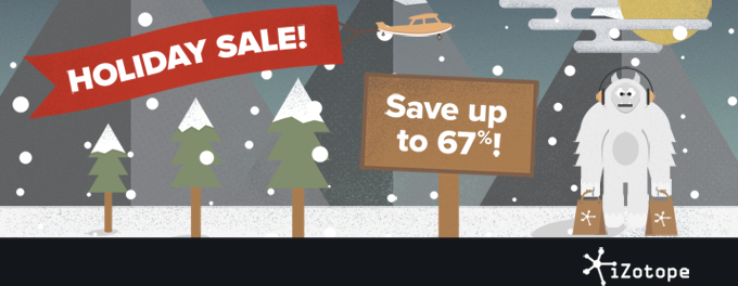 izotope holiday sale