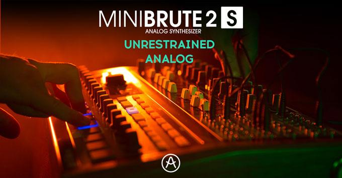 Launch of the Arturia MiniBrute 2S
