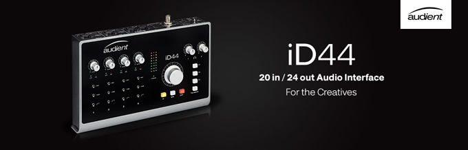 Audient iD44 Interface