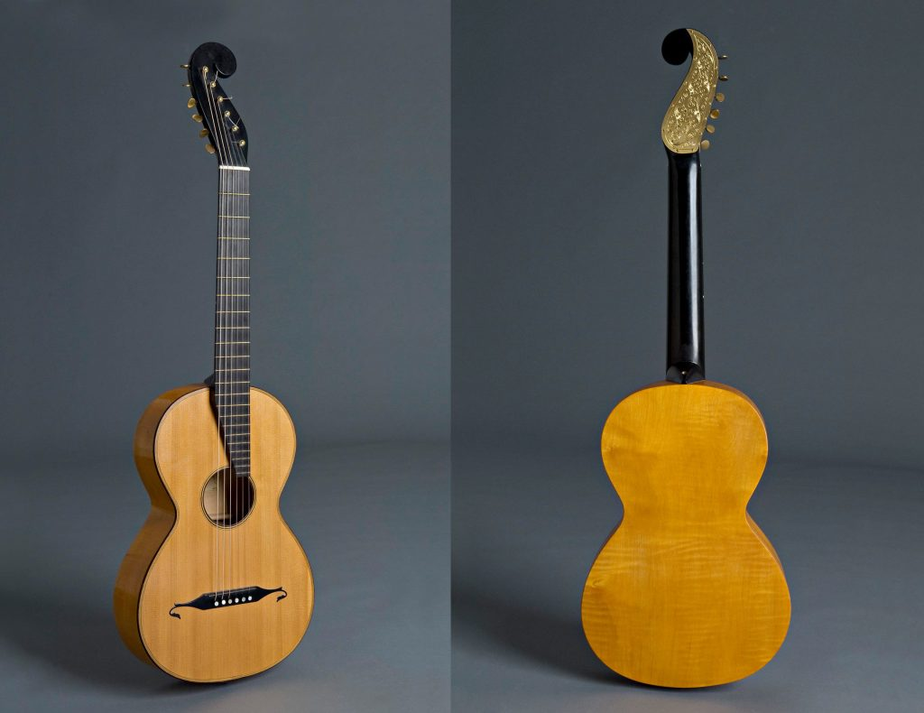 Stauffer Guitar circa 1820s